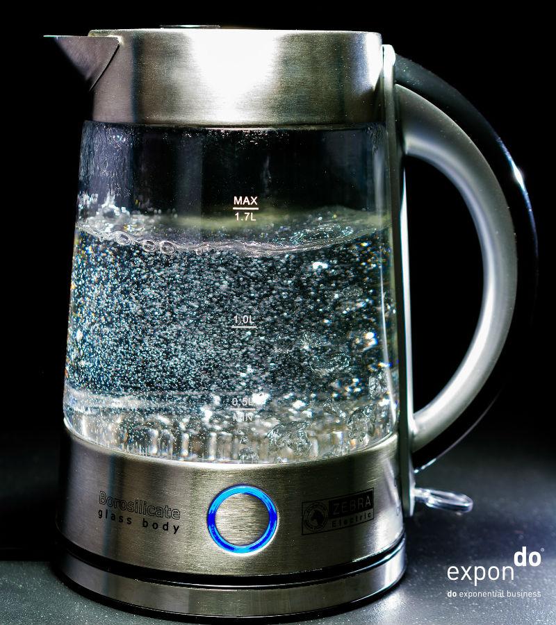 Wasserkocher zu entkalken