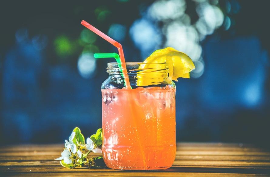 Getränkedispenser für Limonade