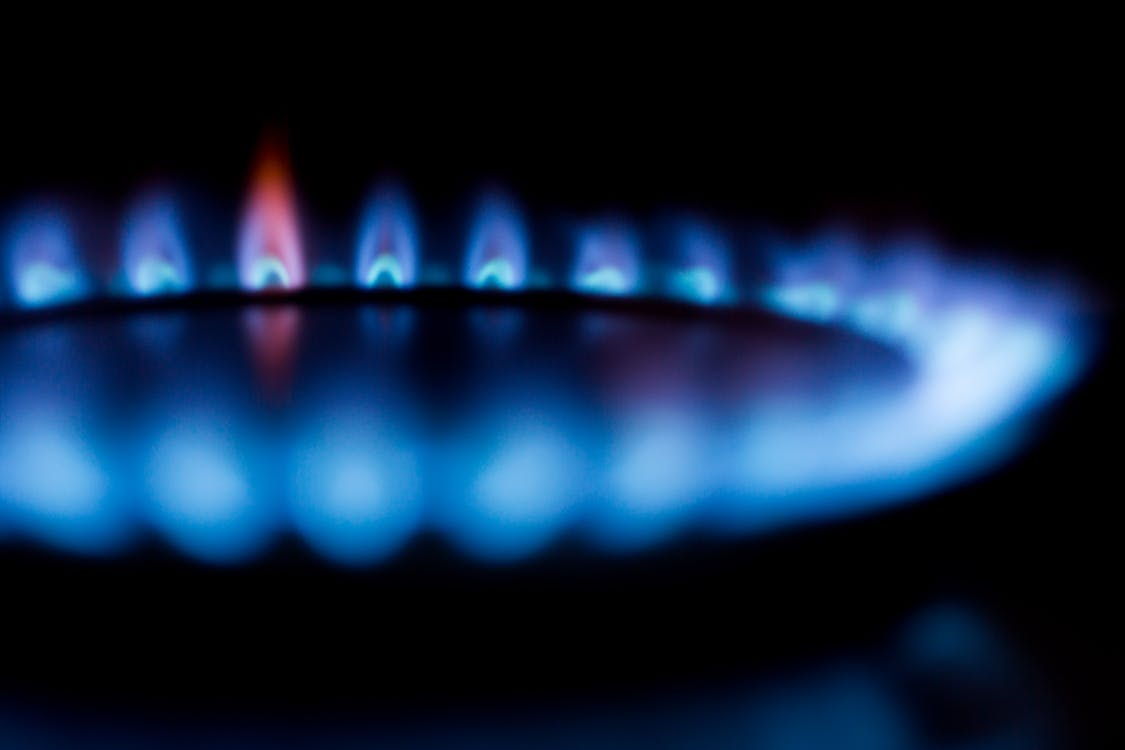 Ein Gasherd erwärmt die Speisen blitzschnell und ganz ohne Strom