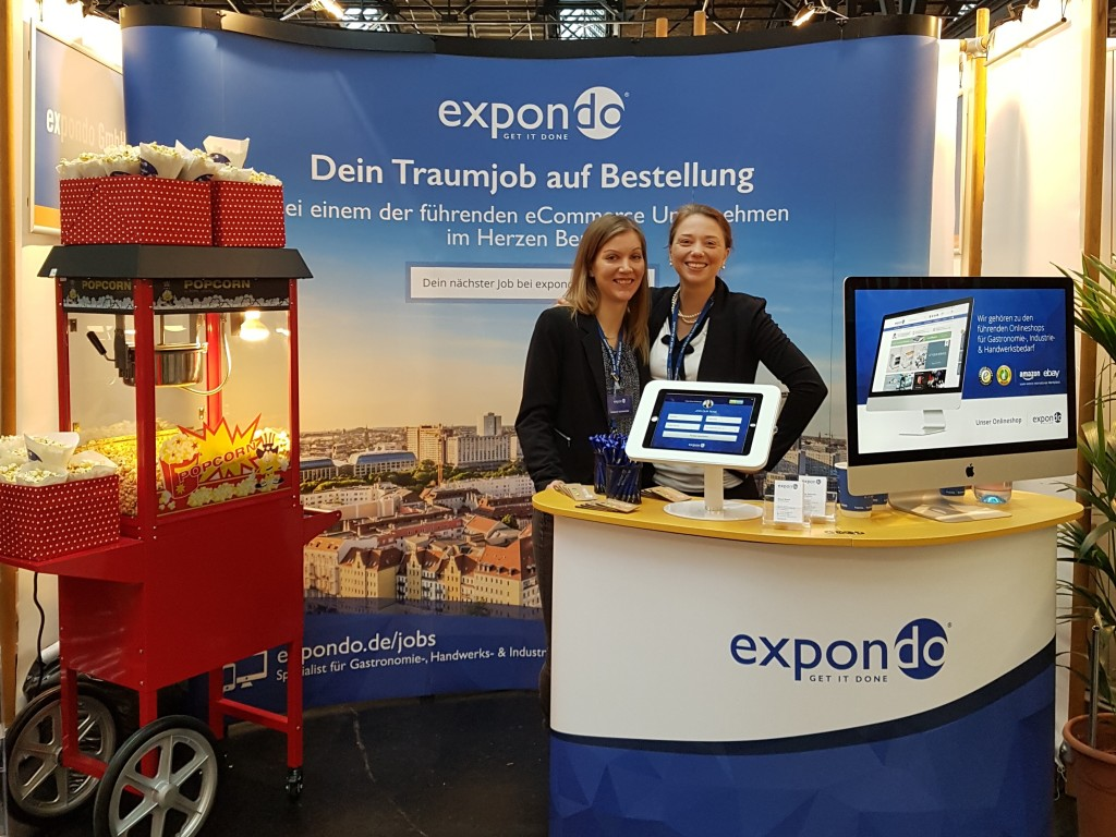 expondo Messestand auf der Connecticum 2017