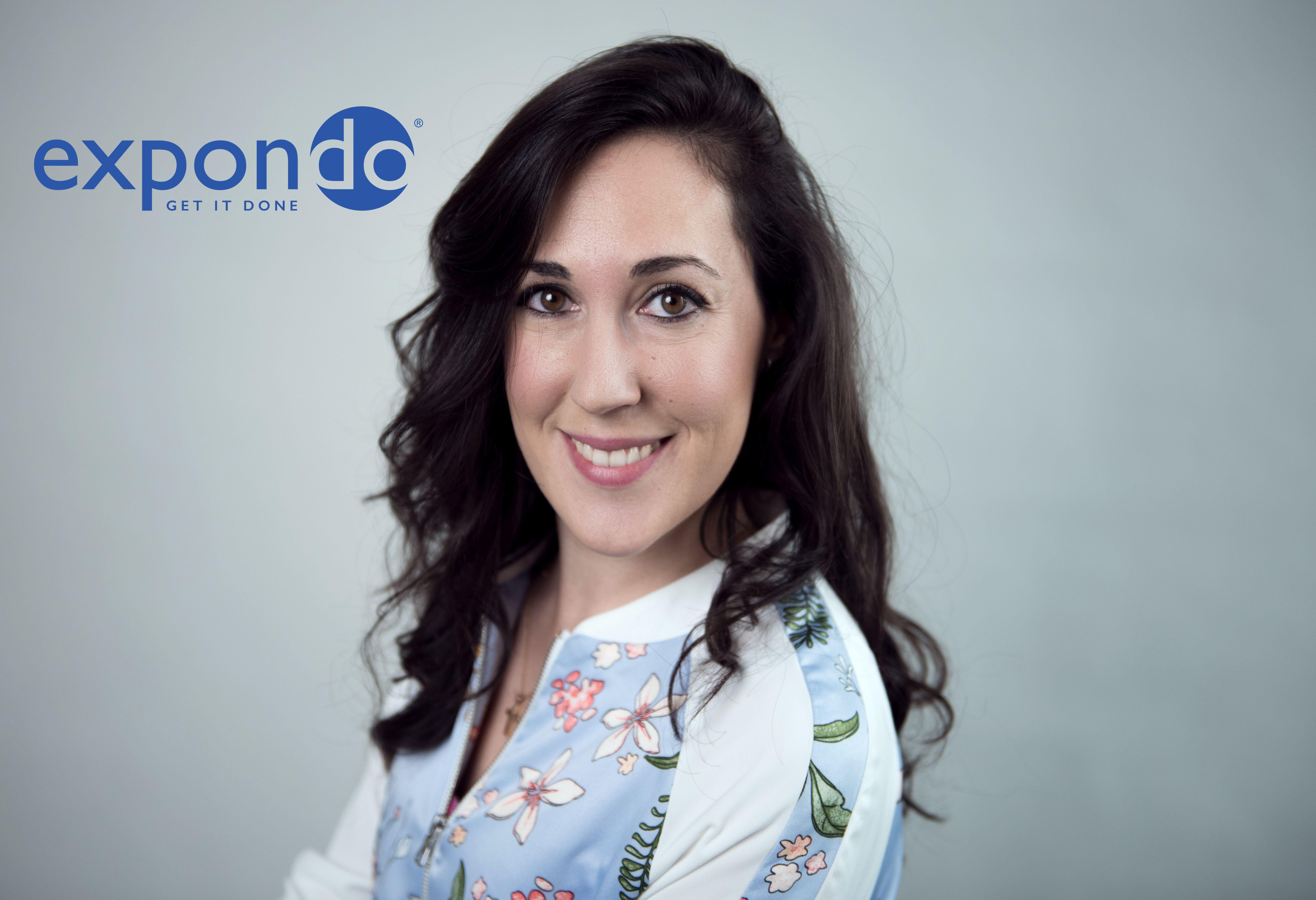 Elena Andreol, der Kopf des EU-Teams bei expondo