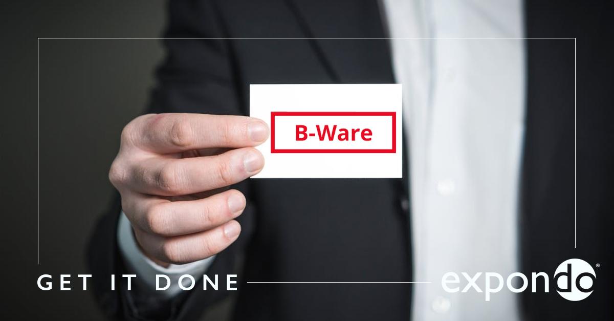 expondos B-Ware aus zweiter Hand